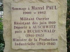 Marcel Paul, déporté, ministre